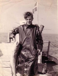 Youthful Mike with a nice cod