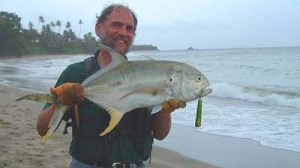 Friend Alan Vaughan with a good Tobago jack
