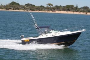 Rogers new boat in Australia