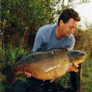 The twin 41lb 8oz  Elstow pit 2