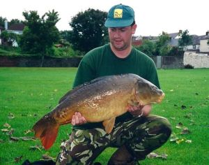 My largest Lough fish – one of the A-team at 24lb8oz