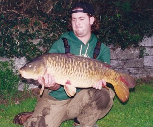 19lb 1oz fully scaled - part of my epic 20 fish capture
