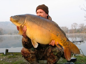 31lb 8oz – my first thirty from Decoy