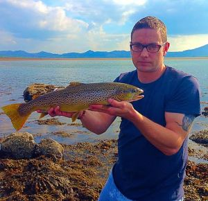 4lb 8oz sea trout