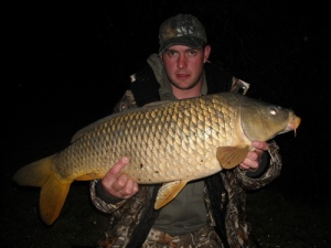 Ben with a nice common carp