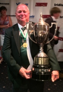 John with the home nations cup in Scotland this year