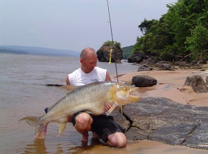 37kg Goliath tiger fish