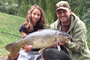 Dave and daughter Lottie