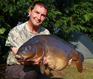 Rob with a fine 36lb 4oz mirror