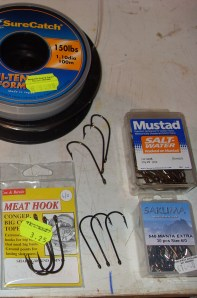 Heavy hooks size 5/0 and 6/0