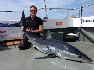 197lb short finned mako