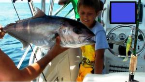 My first amberjack caught with a jig in Angola 2012
