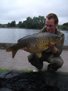 Bill with a gorgeous mirros from the Lough