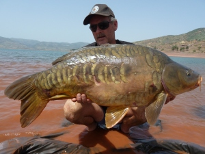 MCF owner Marc with a typical Morocco mirror