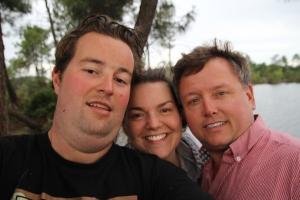 Arjen, Jamie and Kevin Ellis
