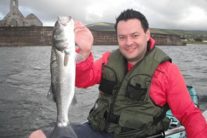 A client from Dublin with a bass