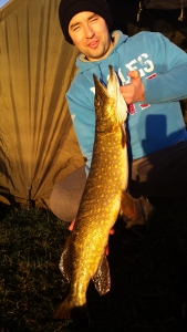 10.9lb pike for Aidan