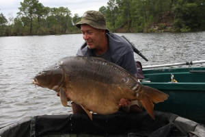 50lb 8oz mirror landed on the new Chilli club