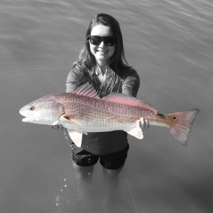 Redfish, one of Jessica's favourite fish