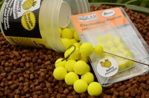 Lockey often tips his hook baits with an 8mm  everlasting hook bait