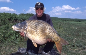 The biggest carp caught in the world in 2001, the Big Common from Raduta at 73lb 13oz caught on 1st May.