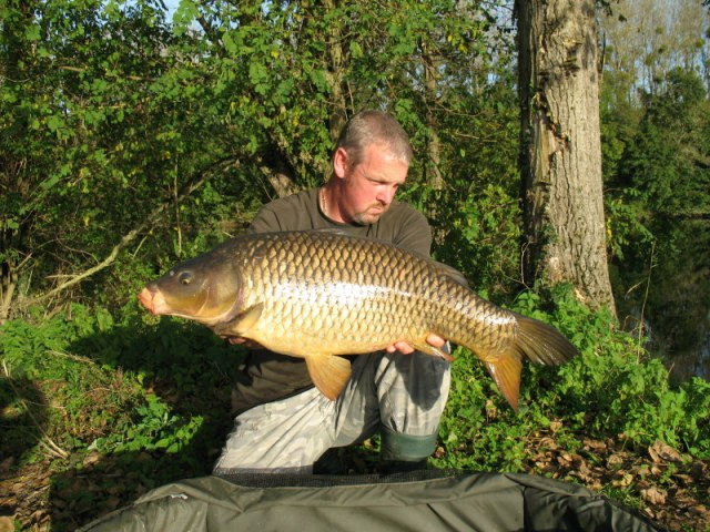 A French river carp in stunning surroundings