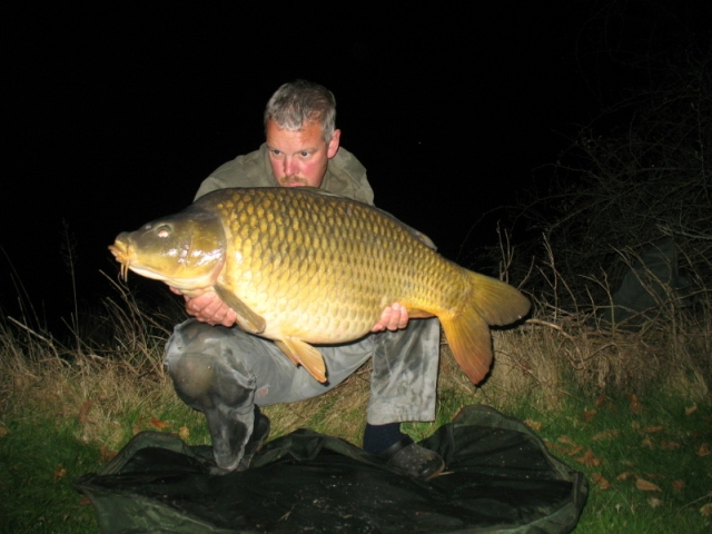 A stunning 39lb common from the river Vienne