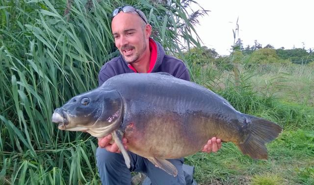 The first of a brace of thirties on Tim's session 31lb 6oz