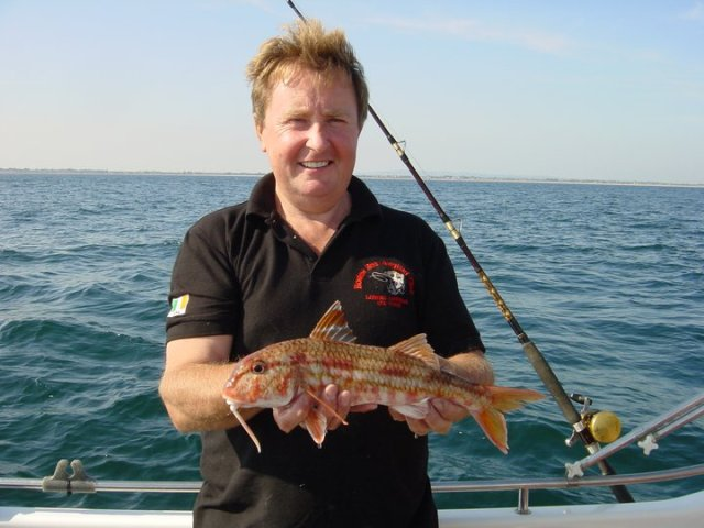 Tony with his red mullet