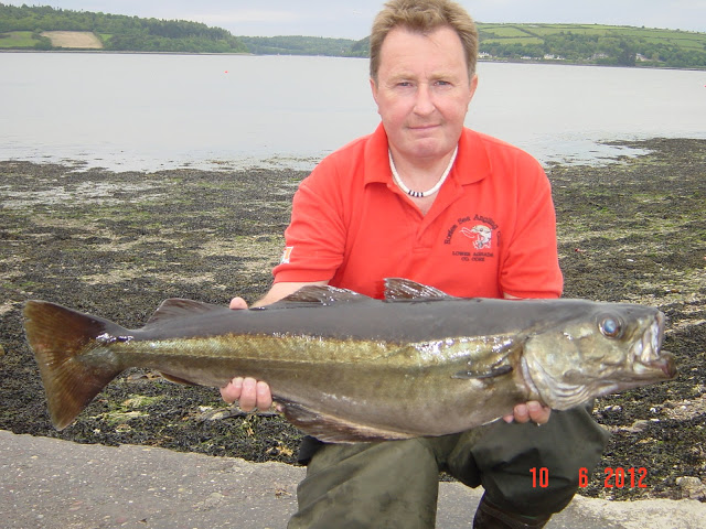 Tony Tait with a fine pollock