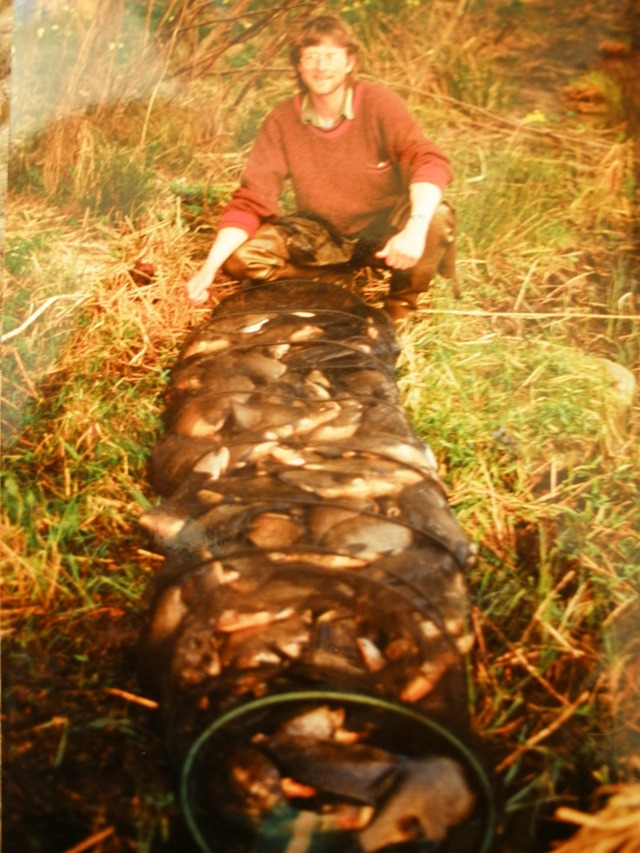 Still my biggest irish match haul , 101 bream for 224lb 8oz in 5 hours, many moons ago.