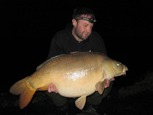 My best fish ever, a french fish of 45lb 6oz
