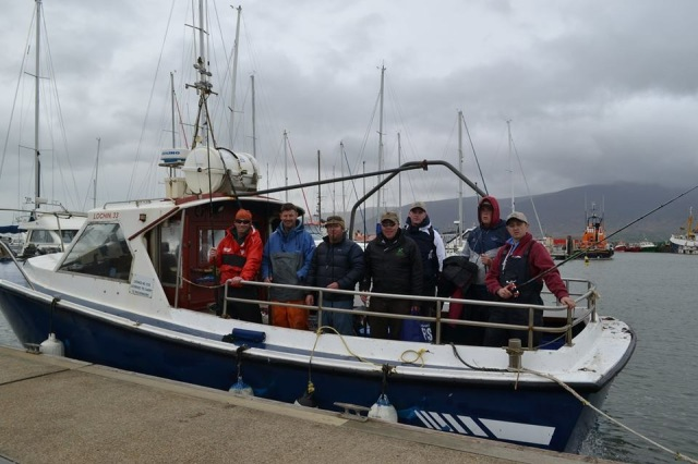 The lads about to set off from Fenit