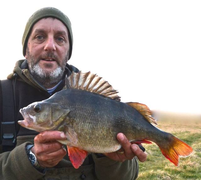 Dai with a monster perch of 4lb taken this year