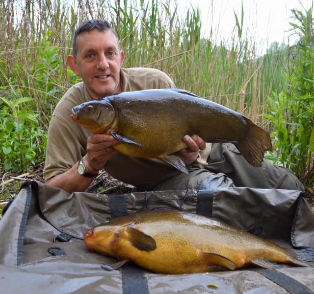 What a brace of tench