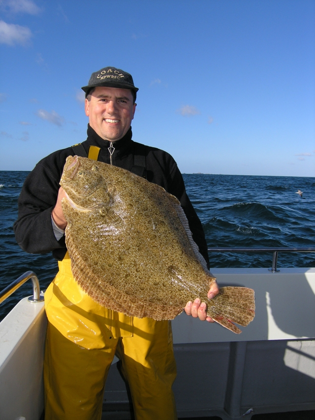 A big brill caught using the same methods