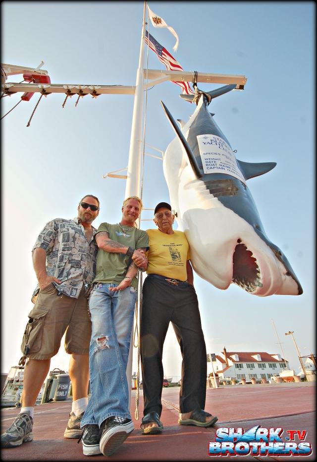Sean, Brooks and Frank Mundus