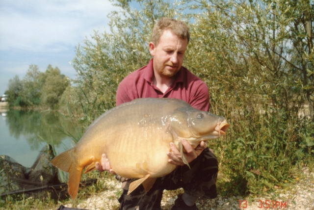 Vinnie at La Fritterie, now known as Etang de Bows and owned By Lee Bowyer