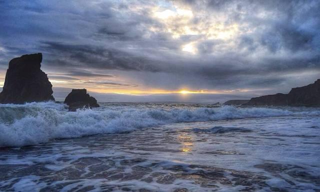 A scene from the Copper coast