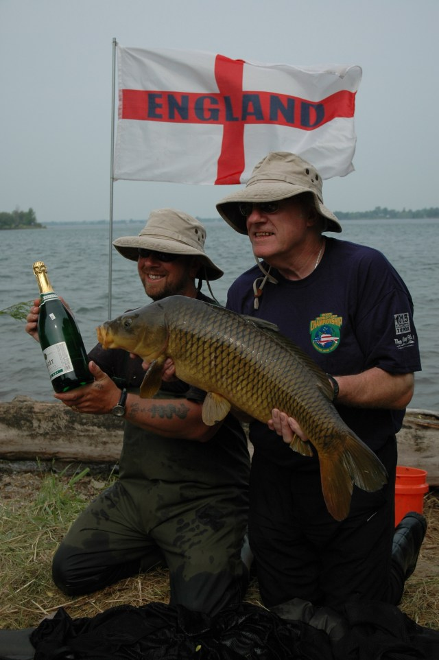 Magic moments - winning the 2nd World Carp Cup with Tim Paisley