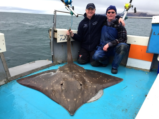 206 lb common skate with Ronnie Campbell